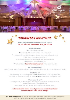business christmas 2019