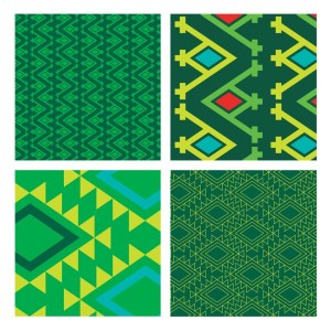 Vibrant African-inspired patterns