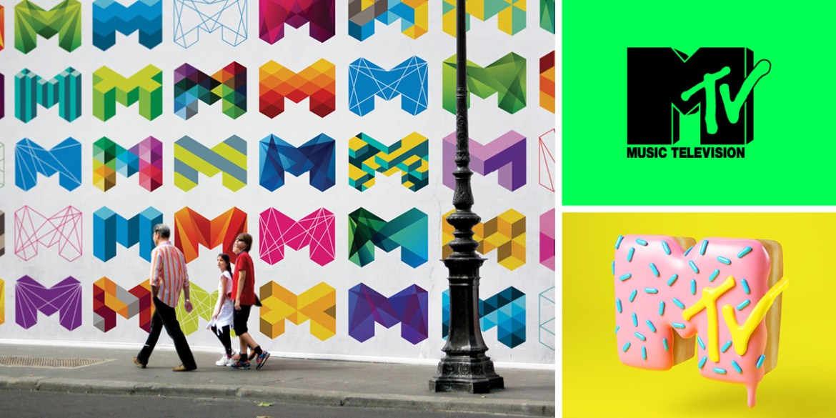 Dynamic M designs for Melbourne City Brand and MTV, that inspired the LA28 dynamic A.