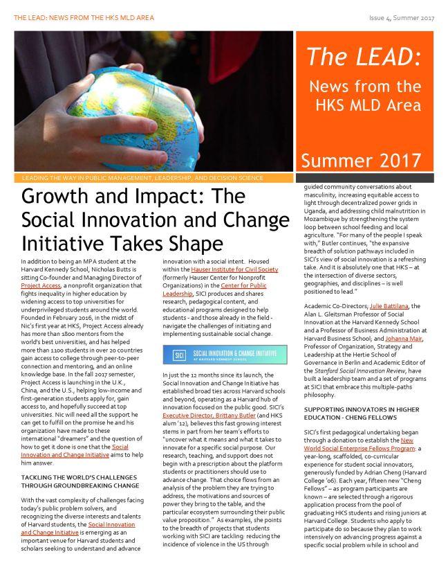 2017 MLD Area Newsletter