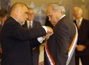 Josip Manolić I Stjepan Mesić