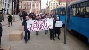 Antibraniteljski prosvjed