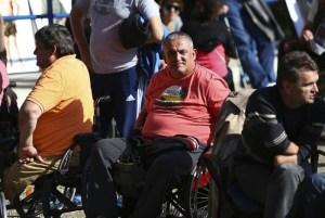 Prosvjed ratnih invalida
