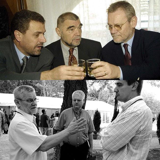 Ivica Račan Stjepan Mesić Ivo Josipović SDP