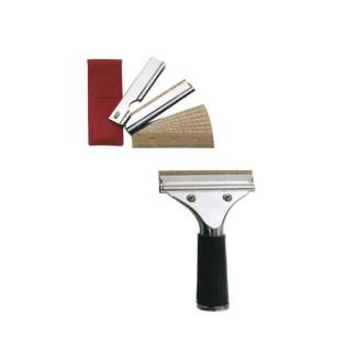 rascador clip cristalero + 10 cuchillas