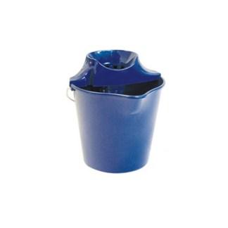 cubo 13 litros pro azul + escurridor