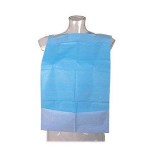 babero odontologico azul sin bolsillo