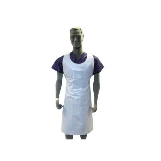 delantal polietileno blanco g.80 76x120 cm