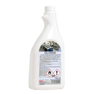 CLINOX - LIMPIADOR DESENGRASANTE ACERO INOX. 750 GR