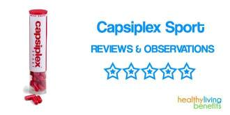 Capsiplex Sport Plus Reviews | Pre-workout Weight Loss Supplement