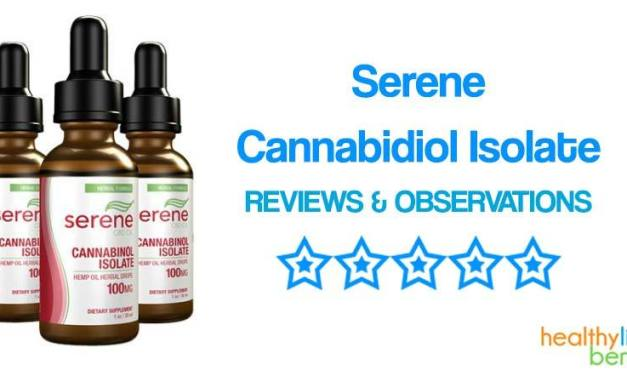Serene CBD Oil – Cannabidiol Isolate Supplement Review