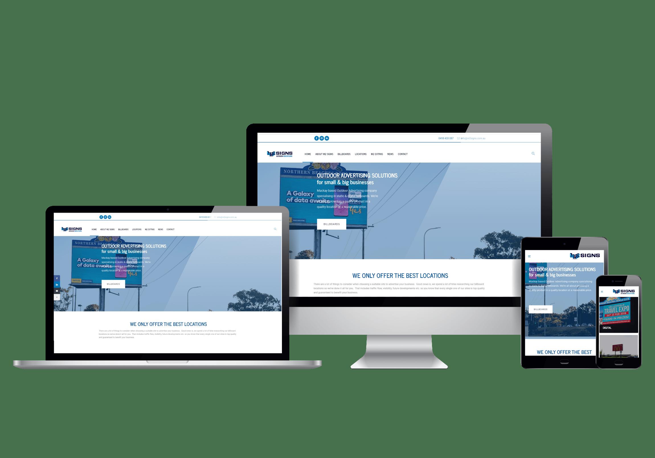 m2signs website