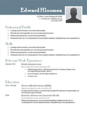 top 10 best resume templates ever free for microsoft word - Best Resume Format Ever