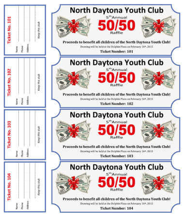 It is a graphic of Universal Printable Raffle Tickets With Stubs