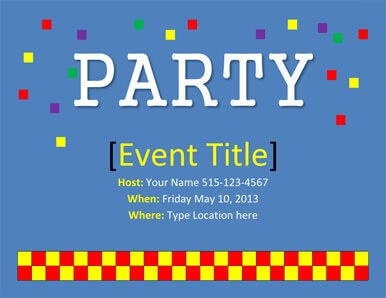 26 free printable party invitation