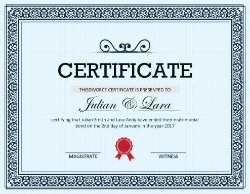 Modeles De Faux Certificats Telechargeables Gratuitement Hloom Com