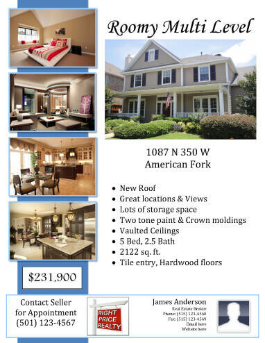 14 Free Flyers For Real Estate