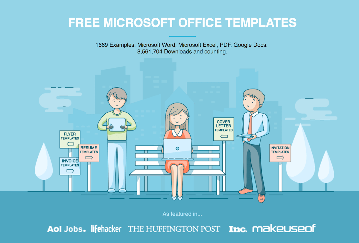 Free Microsoft Office Templates By Hloom