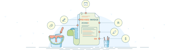 144 Free Invoice Templates for any business in Excel and Word revised invoice