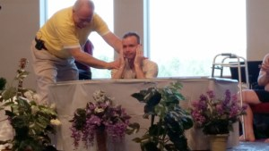 Palm Sunday Baptisms