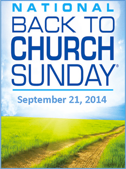 Back to Church Sunday at HLWC