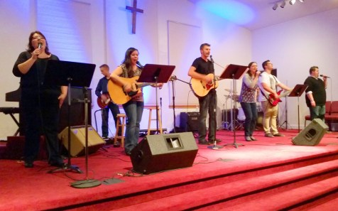 Night of Worship at Hadley Luzerne Wesleyan Church