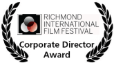 Richmond International Film Festival Corporate Director Award