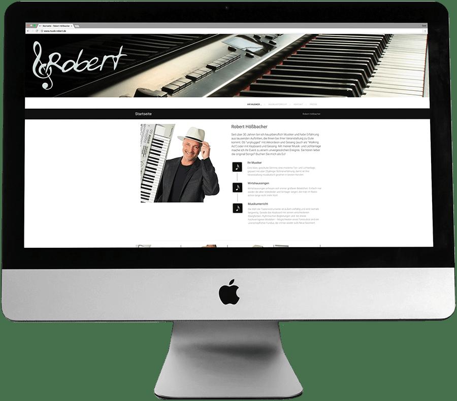 Alleinunterhalter Robert Hößbacher