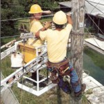 Harris-McBurney install and maintain telecomminication and CATV lines