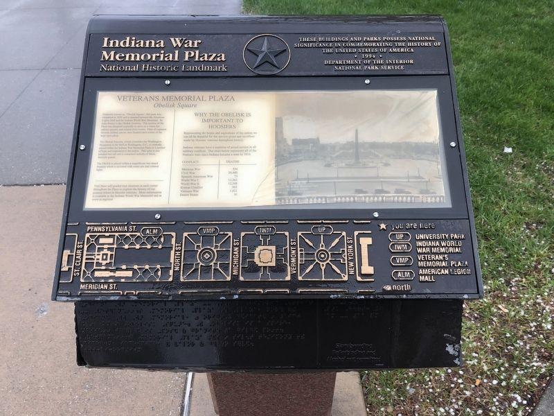 Veterans Memorial Plaza Historical Marker