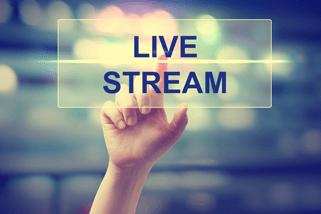 Live streaming illustration
