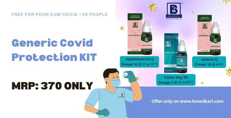 Dr Burnett Covid protection kit