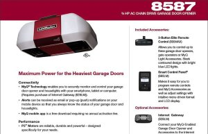 Liftmaster Elite Series 8587
