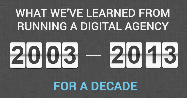 What We've Learned From Running a Digital Agency for a Decade