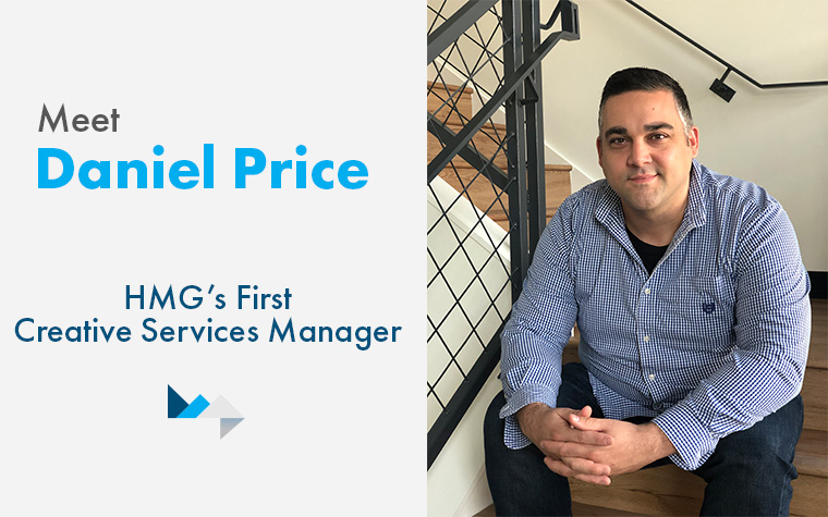 Meet Daniel Price: HMG's First Creative Services Manager
