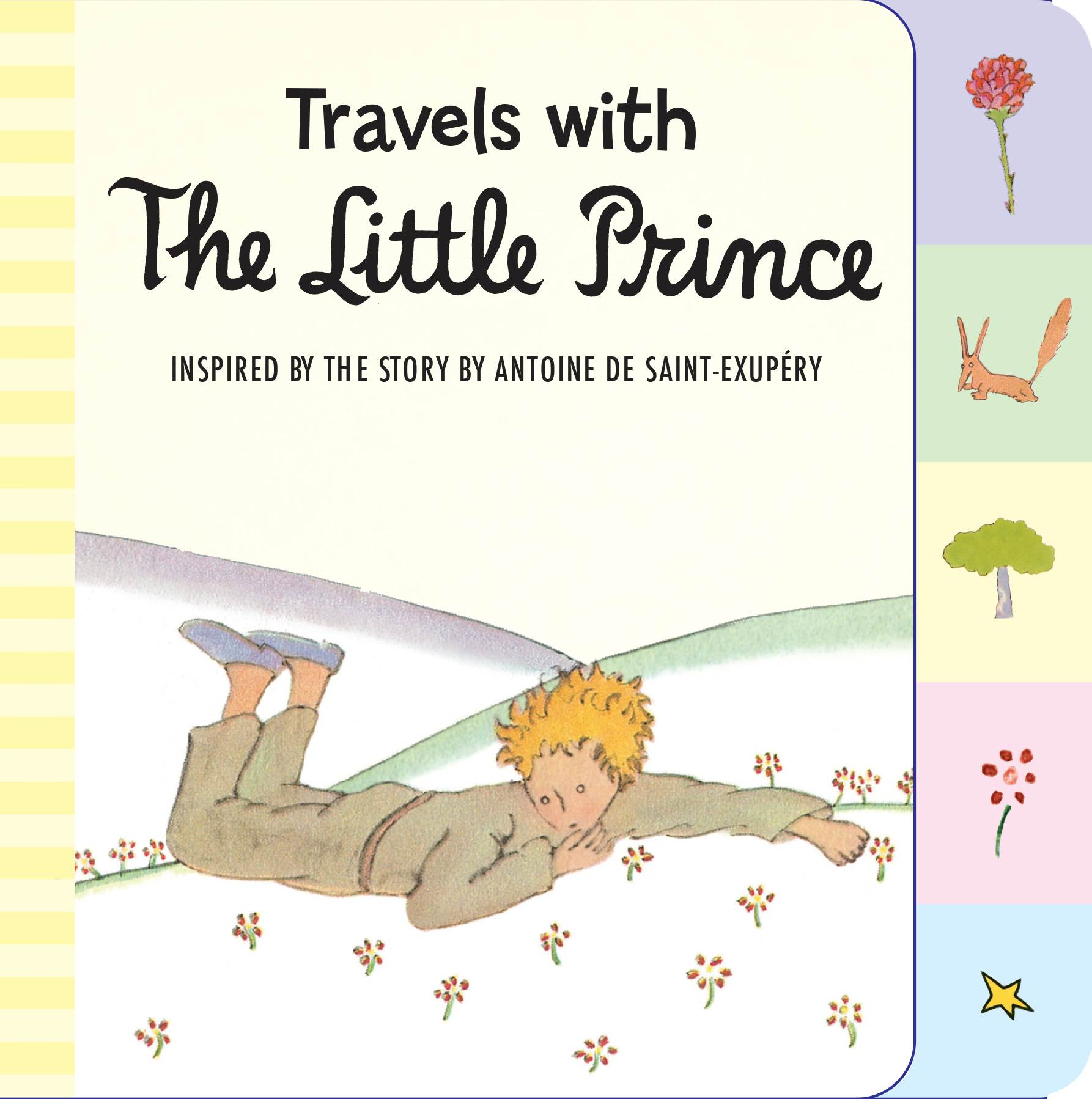 Order Travels With The Little Prince Tabbed Board Book