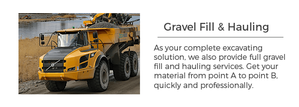 Gravel hauling services for Minnesota clients