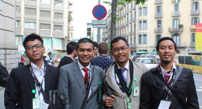 Empat Kader HMI Cabang Sleman Wakili Indonesia pada Konferensi Internasional di Barcelona