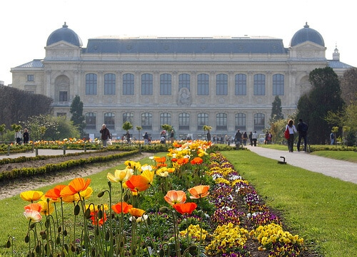 Parks and gardens in Paris