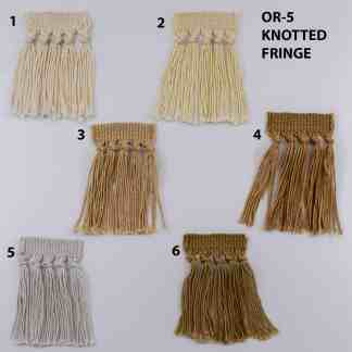 OR-5 KNOTTED RUG FRINGE