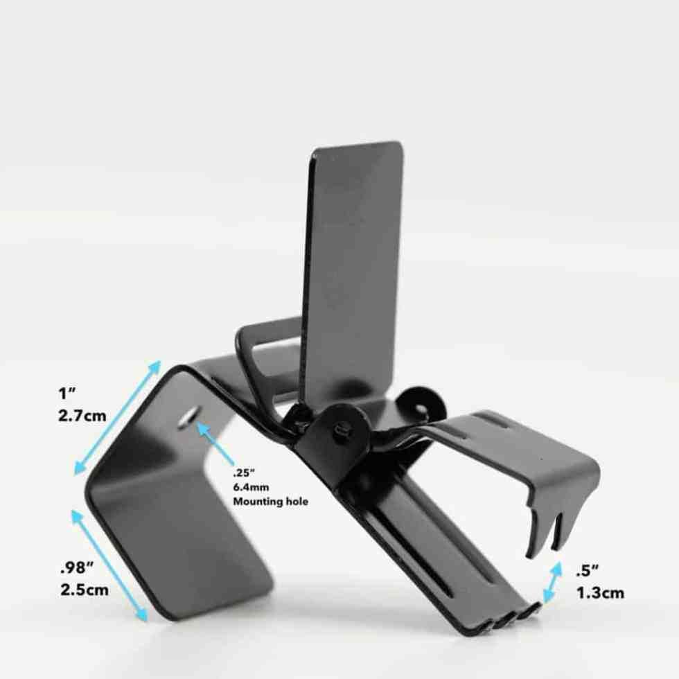 Black Super Clip Dimensions