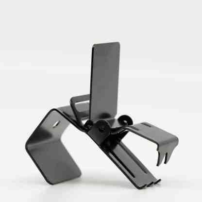Black Super Clips - Rug Clips Side Open