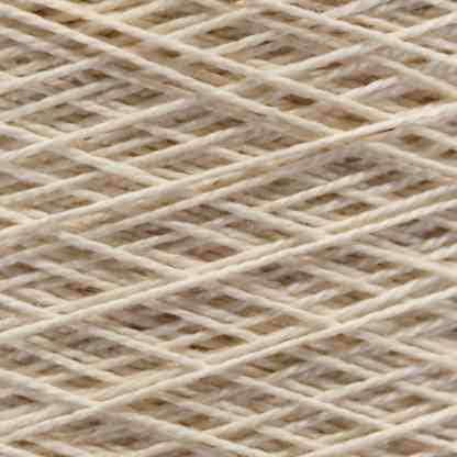Natural Color Mercerized Yarn Closeup