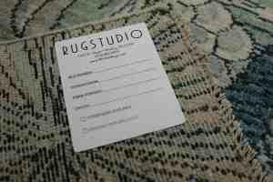 Custom Stick-on Rug Label