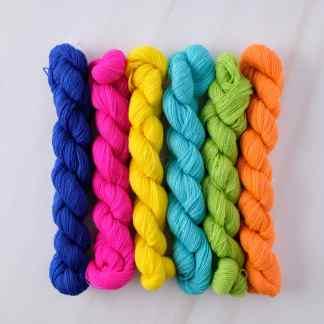 Appletons Crewel Wool Cool Neon Shades