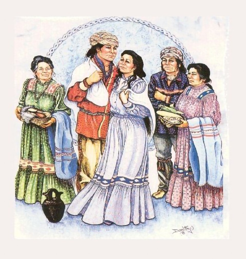 Native American (Cherokee) Traditions – Rituals & Ceremonies: The Old Cherokee Wedding