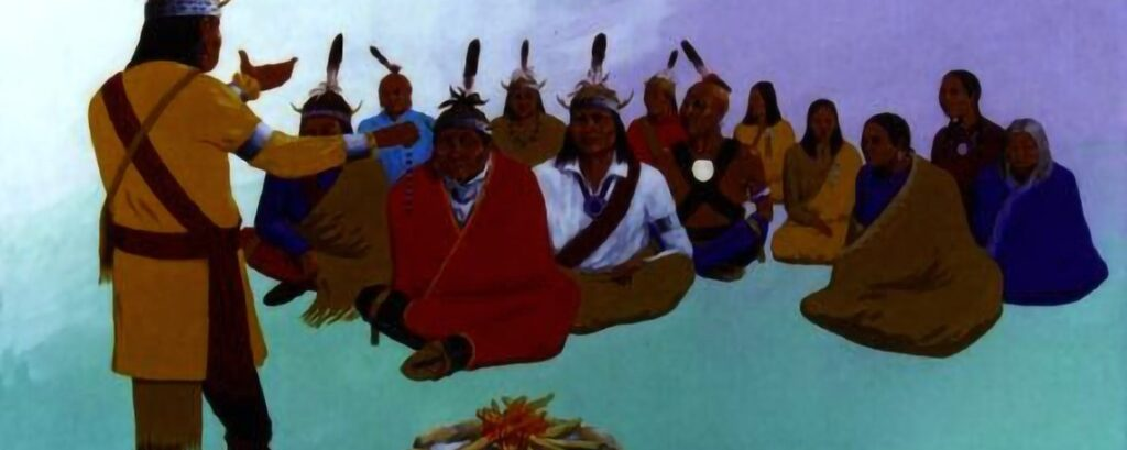 Native American (Iroquois) Folklore – Ancient Clan System