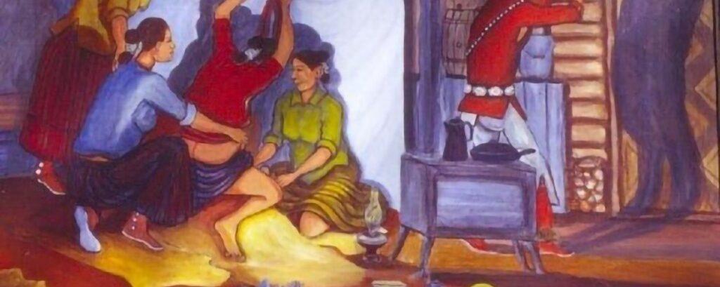 Native American (Navajo) Traditions – Childbirth