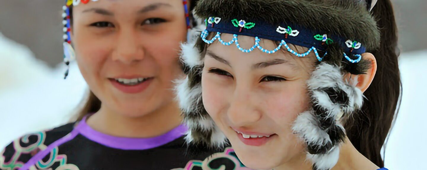 Sakhalin, Hmong And Alaska Native: 3 Pictures Same Similar Design