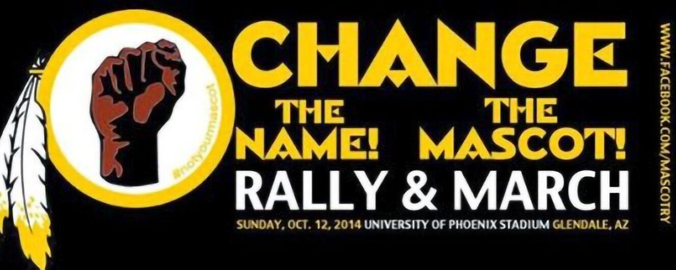 Grassroots Groups and Organizations: Washington, Change Name, Mascot
